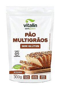 Mistura Integral para Pão Multigrãos Sem Glúten