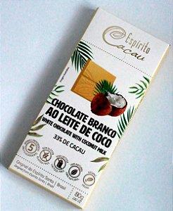Chocolate Branco Ao Leite de Coco 80g