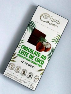 Chocolate Ao leite de Coco 42% 80g