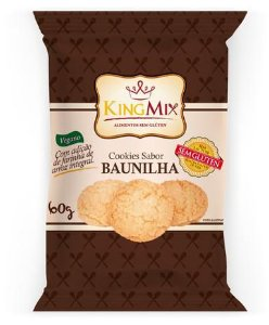 Cookie Vegano Sem Gluten Baunilha 60g