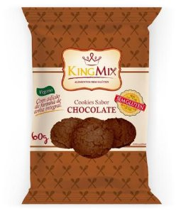 Cookie Vegano Sem Gluten Chocolate 60g