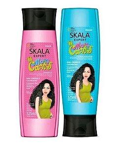 Kit Shampoo e Condicionador Mais Cachos Skala