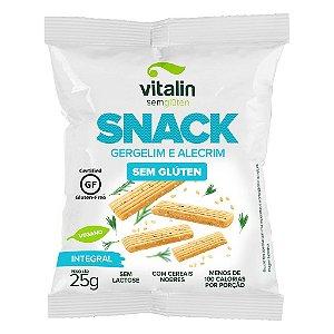 Snack Salgado Gergelim e Alecrim Sem Gluten 25g