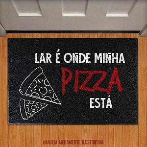 Capacho  Lar é onde minha pizza está