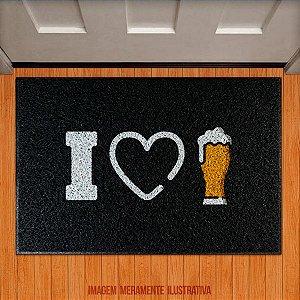 Capacho I LOVE BEER - EU AMO CERVEJA