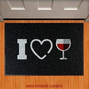 Capacho I LOVE WINE - EU AMO VINHO