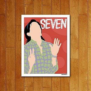 Placa Decorativa Seven
