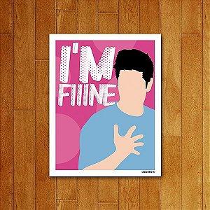 Placa Decorativa I'm Fiiine