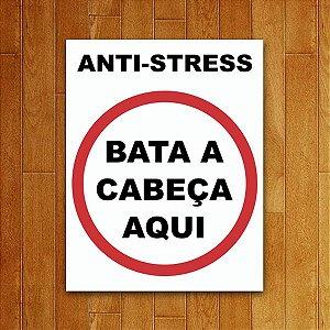 Placa Decorativa Anti-Stress