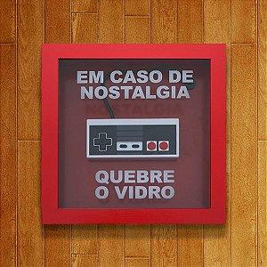 Quadro De Emergência Nostalgia 8 Bits