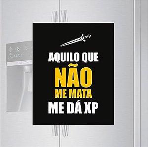 Imã de geladeira - Me dá XP