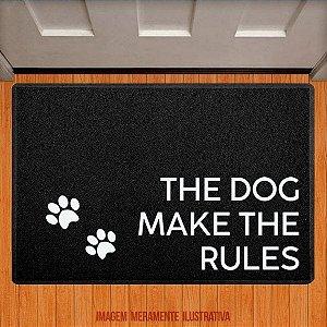 Capacho The dog make the rules
