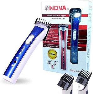 Máquina Multifuncional Nhc-3780 Nova Aparador Cabelo Barba Bigode - ATACADO