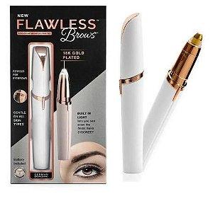 Depilador Para Sobrancelhas Flawless Brows - Branco