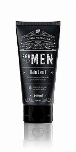 BALM FINALIZADOR 2 EM 1 FOR MEN BY YOU COSMETICS 200ML