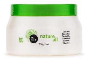 MÁSCARA NATURE ALL NUTRI+ 500G BY YOU COSMETICS