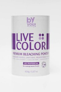 PÓ DESCOLORANTE LIVE COLOR 450G BY YOU COSMETICS