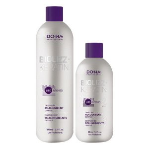 Biolizz - Mini Kit Doha (Passo 1 100ml , Passo 2 50ml)