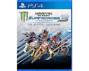 Jogo Square Enix Monster Energy SuperCross 3 PS4