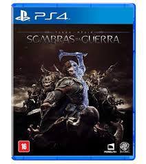 Novo: Jogo Terra Média Sombras da Guerra - PS4