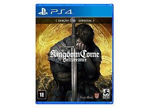 Novo: Jogo Kingdom Come: Deliverance - Edição Especial - PS4