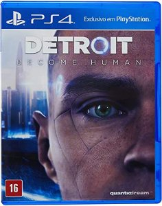 Novo: Jogo Detroit Become Human - PS4