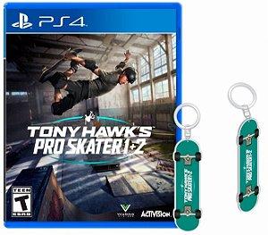 Jogo Tony Hawk's Pro Skater 1+2 (Pré-Venda) - PS4