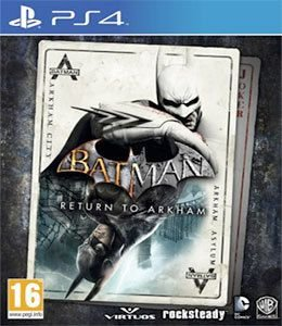 Novo: Jogo Batman: Return To Arkham - PS4