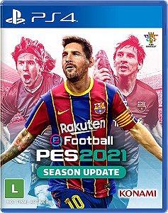 Novo: Jogo eFootball PES 2021 (Pré-venda) - PS4