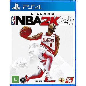 Novo: Jogo NBA 2K21 (Pré-venda) - PS4