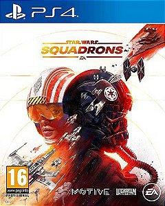 Novo: Jogo Star Wars: Squadrons (Pré-venda) - PS4
