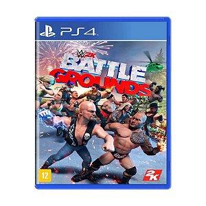 Novo: Jogo WWE 2K Battlegrounds (Pré-Venda) - PS4