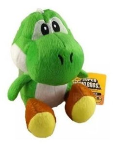 Boneco Super Mario Bros: Yoshi - Pelúcia