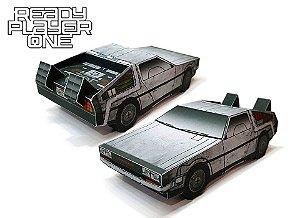 Carro De Volta Para o Futuro 3D Dobravél