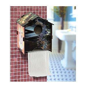 Novo: Porta Papel Higiênico Casa Artsy