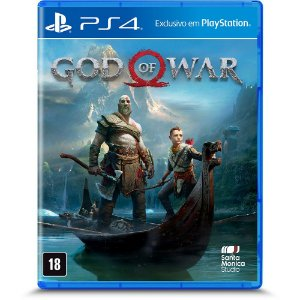 Novo: Jogo God Of War - PS4