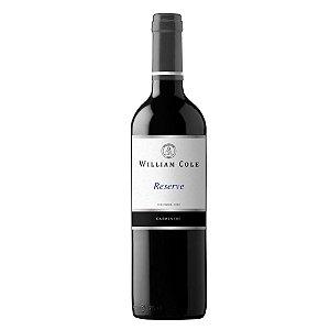 Vinho Tinto William Cole Carmenere Reserva