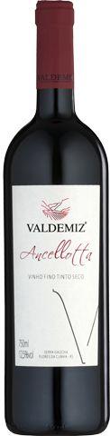 Vinho Tinto Valdemiz Ancellotta