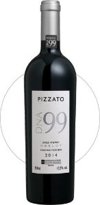 Vinho Tinto Pizzato DNA 99 Single Vineyard Merlot D.O.V.V. 2015