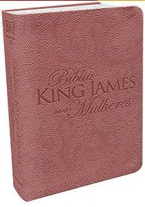 Bíblia BKJ Para Mulheres Rose Gold