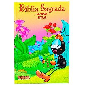 BÍBLIA NTLH CAPA DURA FANIQUITA AMARELA