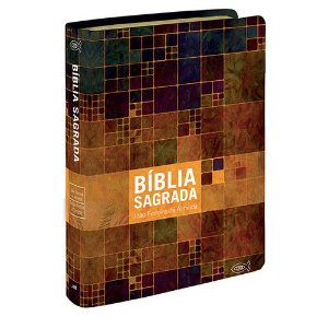 BIBLIA RC MEDIA LETRA GRANDE LUXO CAPA NEUTRA ESTAMPADA