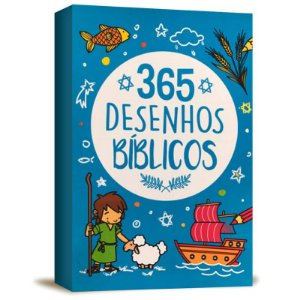 LIVRO 365 DESENHOS BIBLICOS