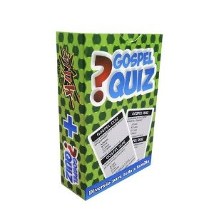 JOGO DE CARTAS GOSPEL QUIZ FARUK CARD GAMES