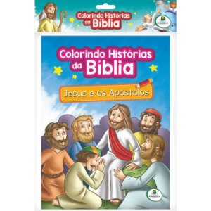 KIT COLORINDO HISTORIAS DA BIBLIA