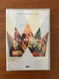 DVD DIANTE DO TRONO TU REINAS