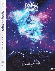 DVD DANIELA ARAUJO LIVE CRIADOR DO MUNDO