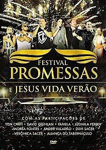 DVD FESTIVAL PROMESSAS E JESUS VIDA VERAO