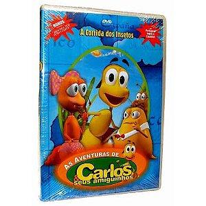 DVD AS AVENTURAS DE CARLOS E SEUS AMIGUINHOS