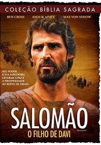 DVD COLECAO BIBLIA SAGRADA SALOMAO O FILHO DE DAVI